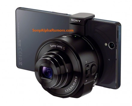 QX10 with XperiaZ