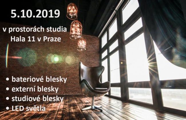 Godox Day již 5.10.2019 v Pražském fotostudiu HALA 11 | Godox.cz